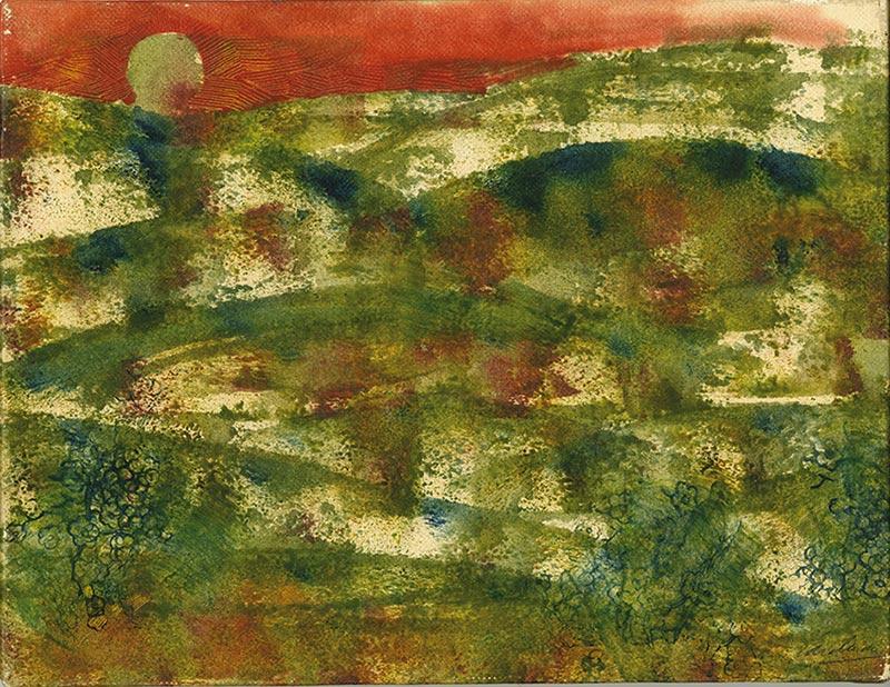 Carelman ciel rouge