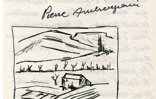 450mini-Pierre AMBROGIANI-Lettre de Peintre  -arts-fr-odeon-moderne-raux