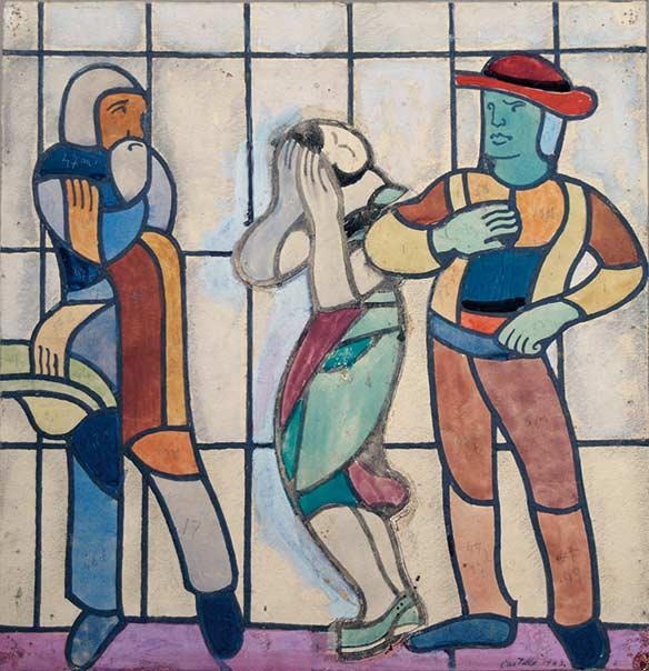 Castella-25385_1-Jean-Edouard de CASTELLA-Oeuvre  -arts-fr-odeon-moderne-raux