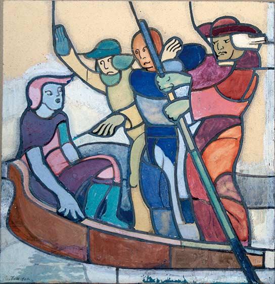 Castella-25385_3-Jean-Edouard de CASTELLA-Oeuvre  -arts-fr-odeon-moderne-raux