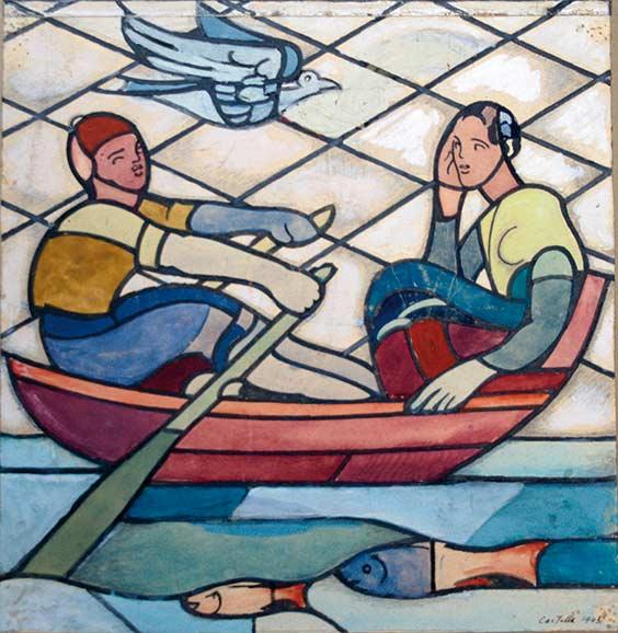 Castella-25385_4-Jean-Edouard de CASTELLA-Oeuvre  -arts-fr-odeon-moderne-raux