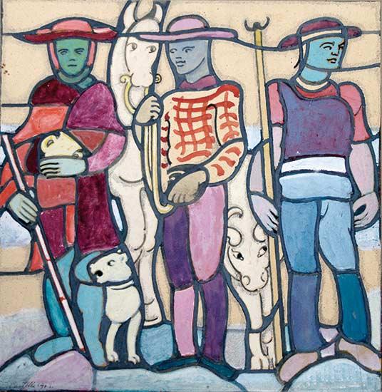 Castella-25385_5-Jean-Edouard de CASTELLA-Oeuvre  -arts-fr-odeon-moderne-raux