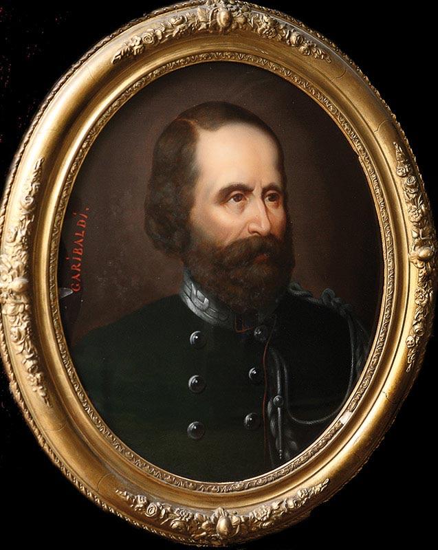 Garibaldi-25451-ÉCOLE ITALIENNE DU XIXe SIÈCLE — GARIBALDI-Oeuvre  -arts-fr-odeon-moderne-raux