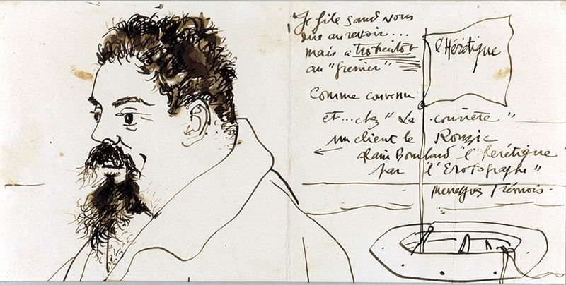 Tremois-542-Pierre Yves TREMOIS-Lettre de Peintre Oeuvre  -arts-fr-odeon-moderne-raux