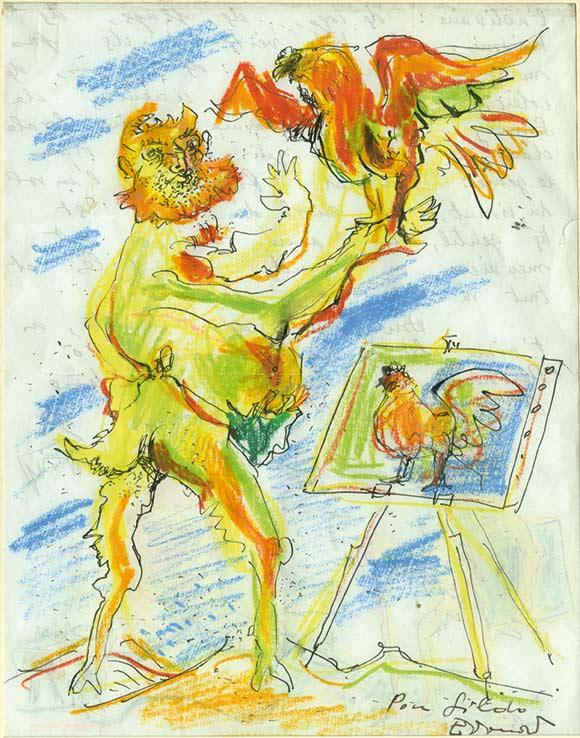 671-Pignon1-Édouard PIGNON-Lettre de Peintre  -arts-fr-odeon-moderne-raux
