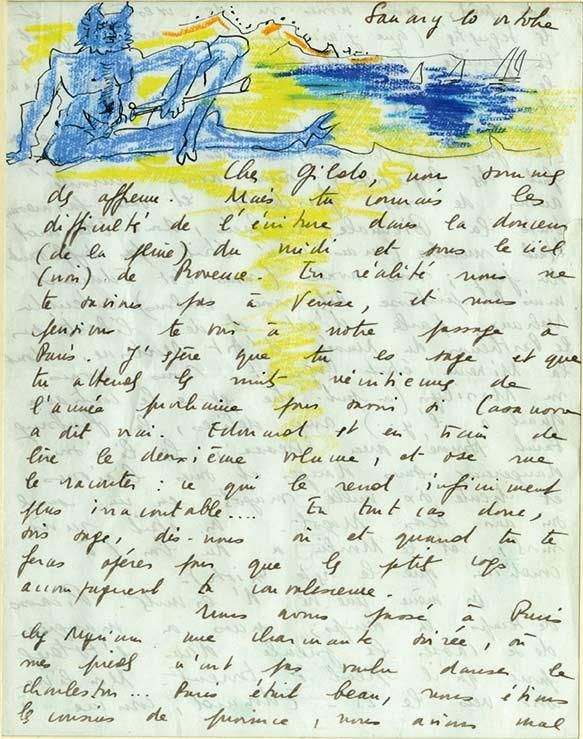 671-Pignon2-Édouard PIGNON-Lettre de Peintre  -arts-fr-odeon-moderne-raux