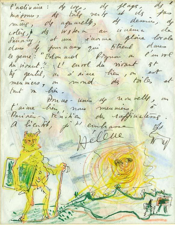 671-Pignon4-Édouard PIGNON-Lettre de Peintre  -arts-fr-odeon-moderne-raux