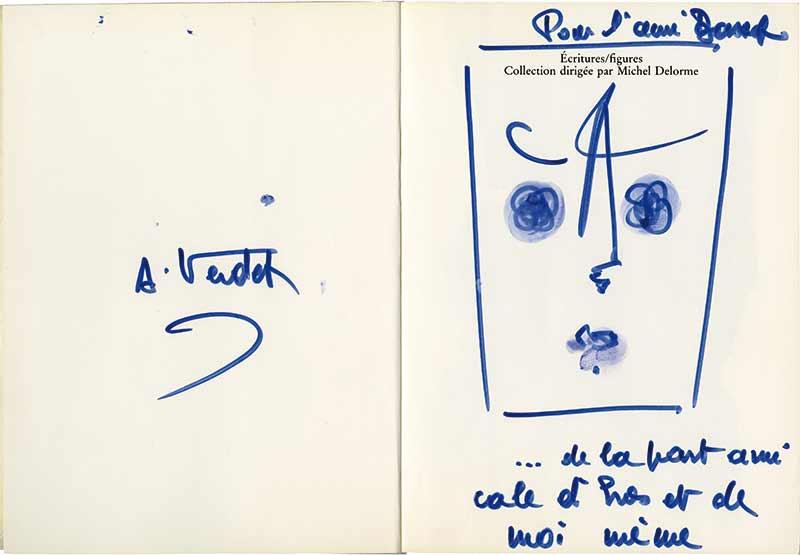 Verdet-26021-Paul JENKINS-Lettre de Peintre Oeuvre  -arts-fr-odeon-moderne-raux