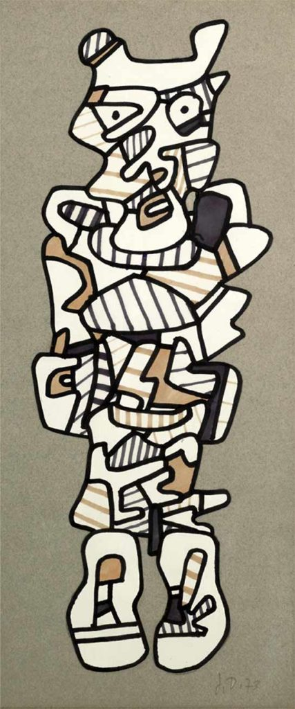 Dubuffet Personnage