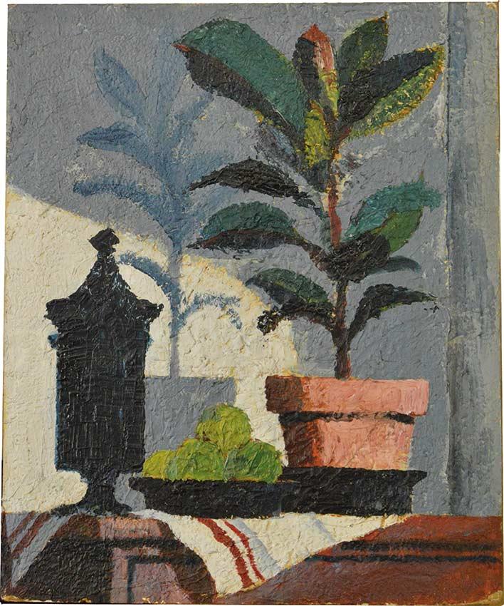 Carelman-planteverte-Jacques CARELMAN-Work  -arts-fr-odeon-moderne-raux