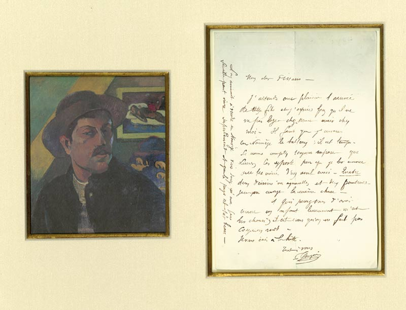 Gauguin-2-Paul GAUGUIN-Painter's Letter  -arts-fr-odeon-moderne-raux