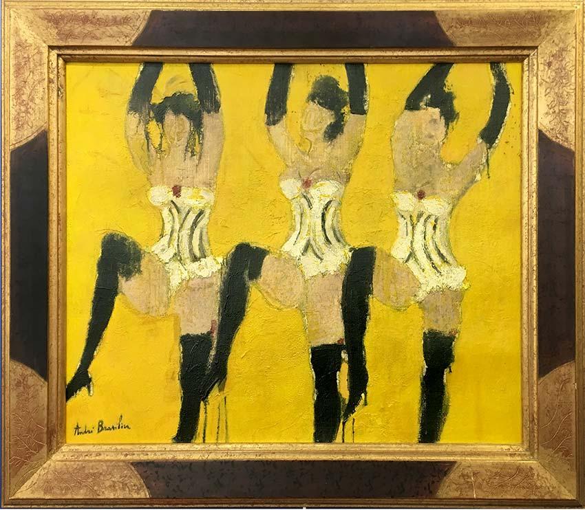 brasilier-1958-André BRASILIER-Oeuvre  -arts-fr-odeon-moderne-raux